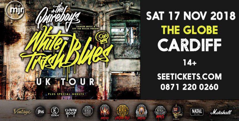 The Quireboys, Nicotine Pretty – the Globe Cardiff 17.11.18