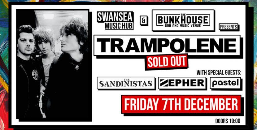 Trampolene / The Sandinistas – The Bunkhouse Swansea 07/12/18