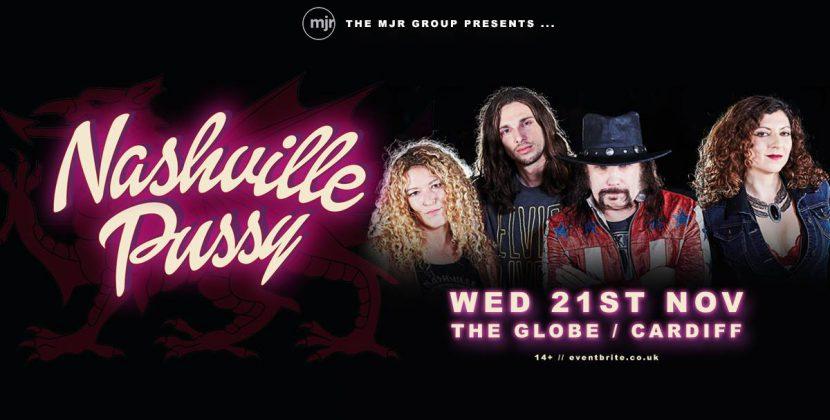Nashville Pussy – Cardiff, The Globe – 21st November 2018