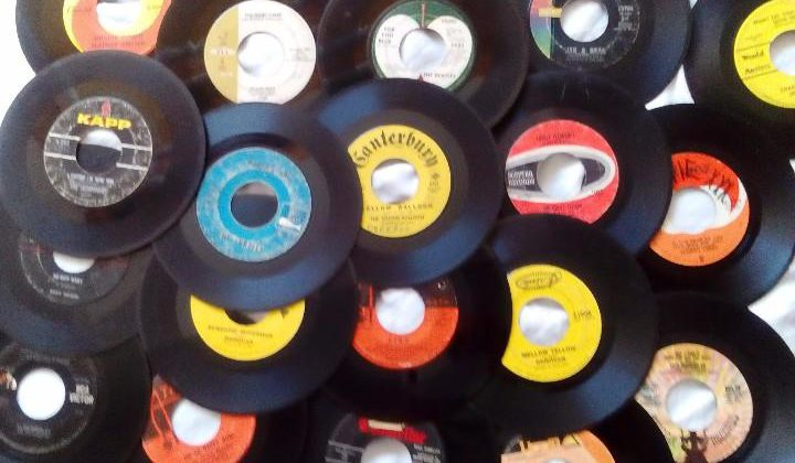 45 RPM its a revolution baby!
