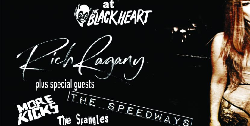 Rich Ragany & The Digressions, More Kicks, The Speedways, The Spangles – Camden Black Heart 25.01.19