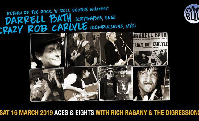 Carlyle, Bath & Ragany play Aces & Eights ticket details