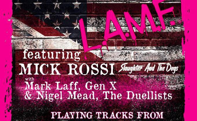 Walter Lures L.A.M.F Announced for Rebellion Festival