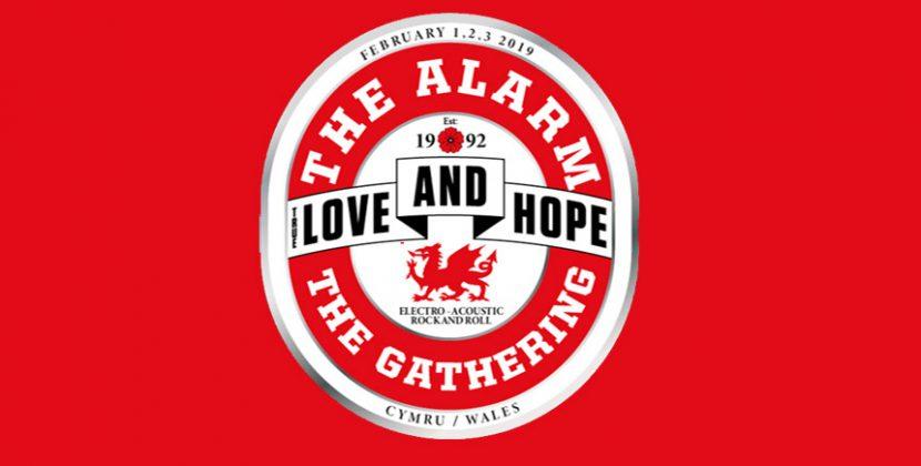 The Gathering – Ryan Hamilton / Then Jerico / The Alarm. Theatre Cymru, Llandudno 02.02.19