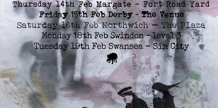 Peter Doherty & The Puta Madres / Marc Eden – Sin City Swansea 19.02.19