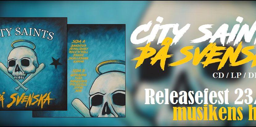 City Saints – 'Pa Svenska' (Sunny Bastards Records)