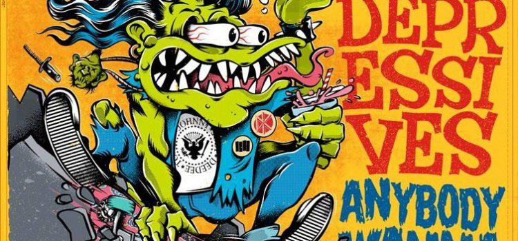 Jonny Manak and the Depressives – Anybody Wanna Skate (Gods Candy Records)
