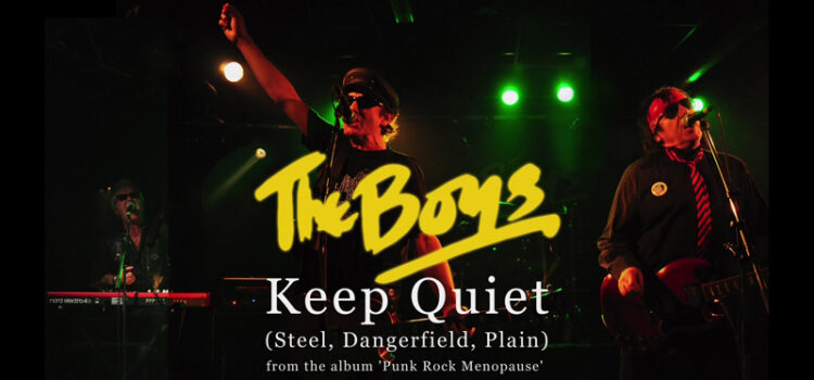 The Boys release brand new video for 'Keep Quiet'