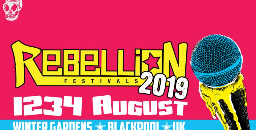 Rebellion Festival – Blackpool Winter Gardens – Sunday 4th August 2019