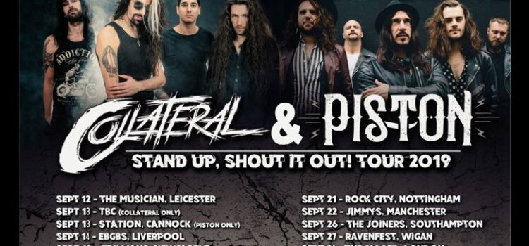 PISTON AND COLLATERAL'S CO-HEADLINE UK TOUR