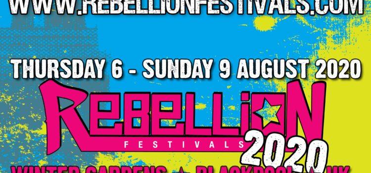 Rebellion Festival 2020 Crass update