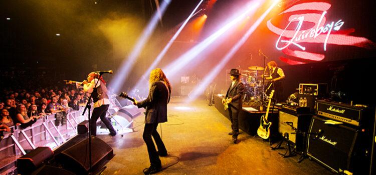 Orchestral Quireboys Live Show album launch