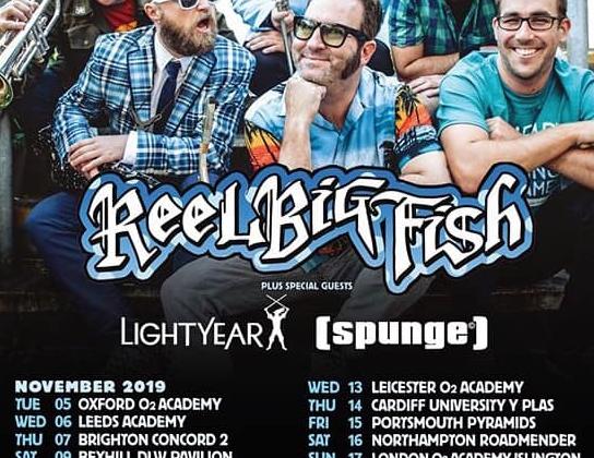 Reel Big Fish Tour Dates for November
