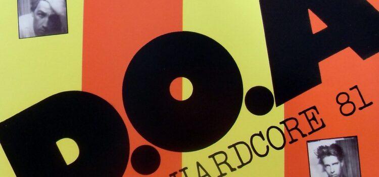 "D.O.A.'s ""Hardcore 81"" Receives 2019  Slaight Family Polaris Heritage Prize Designation"