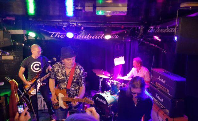 Brian James – The Troubadour,  London – 08-11-19