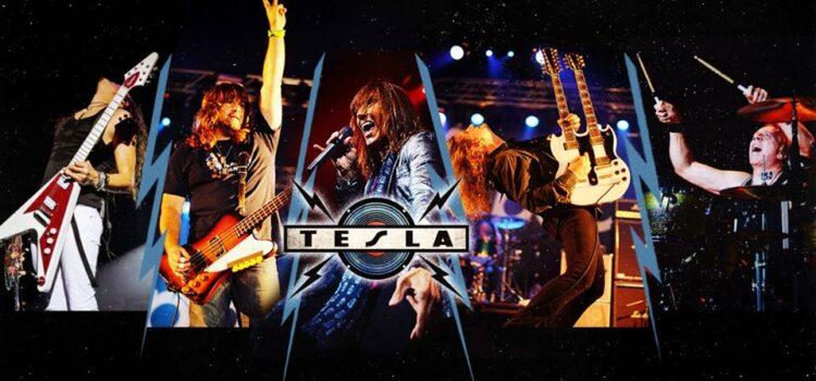TESLA ANNOUNCES NEW ALBUM, 'FIVE MAN LONDON JAM,' MARCH 2020.
