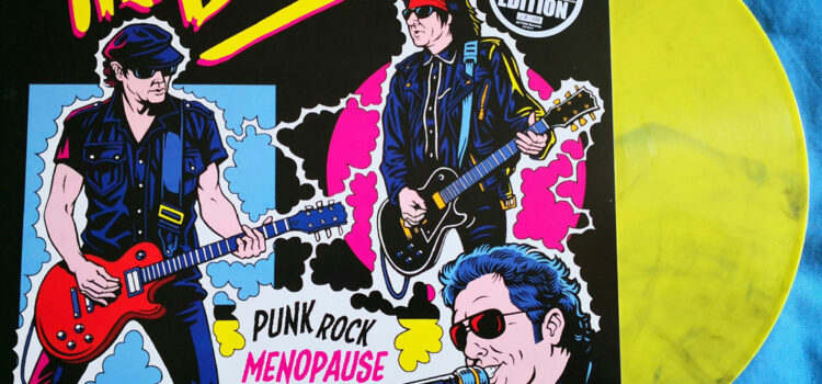 The Boys – 'Punk Rock Menopause' gets Limited Marble pressing