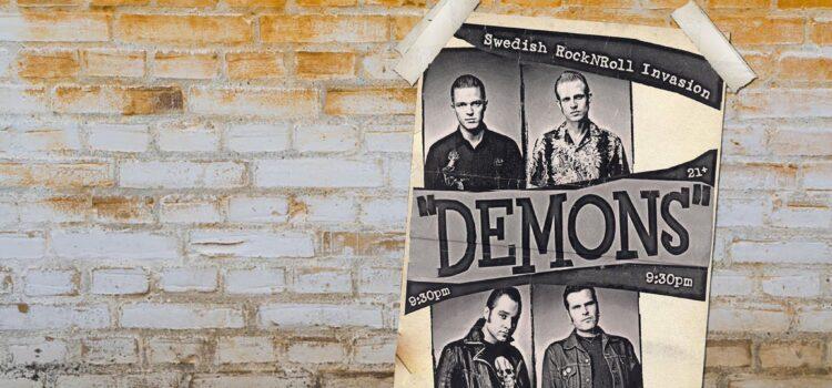 """Demons"" – 'No Loitering (Burn Down The Club)' (VitriolaRecordings)"