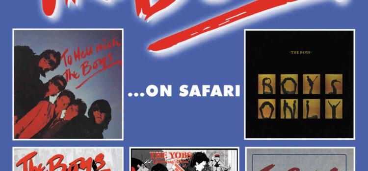 The Boys – The Boys…On Safari' (Captain Oi! / Cherry Red Records)