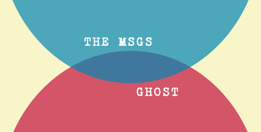 The MSGS – 'Ghost' (Waterslide / Monster Zero Records)