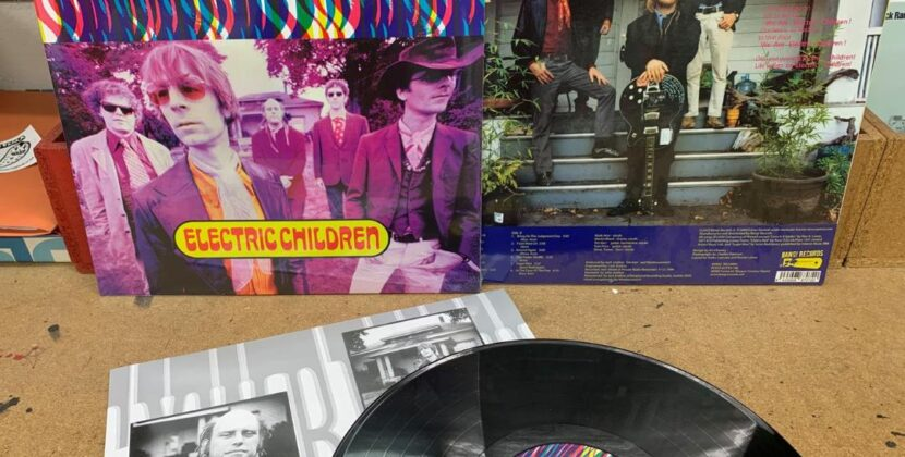 The Monkeywrench reissue 'Electric Children' on vinyl