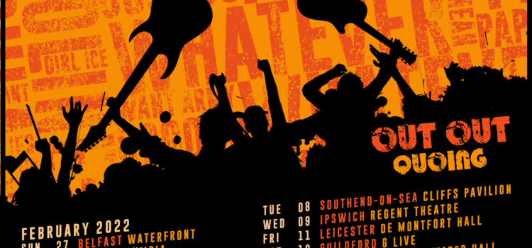 STATUS QUO – The'Out Out Quoing'UK & Eire Spring Tour
