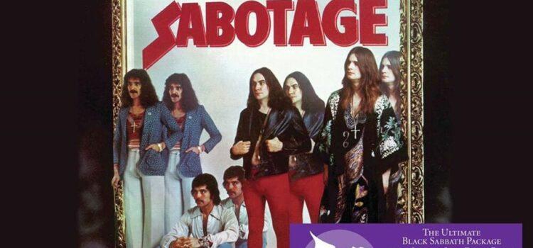 Black Sabbath – 'Sabotage' (BMG)
