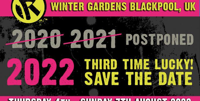 REBELLION FESTIVAL 2021 CANCELLED