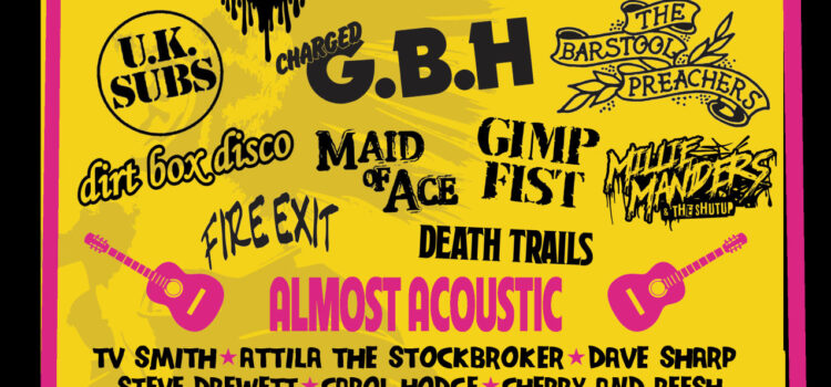 Rebellion Festival – Celebrating 25 Years since Holidays In The Sun…
