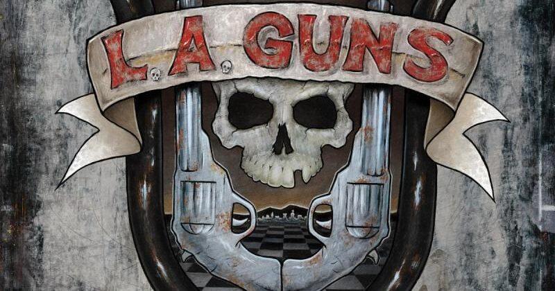 L.A. GUNS  – 'CHECKERED PAST' pre sales