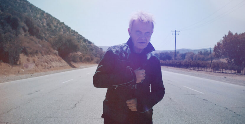 Billy Idol releases new video