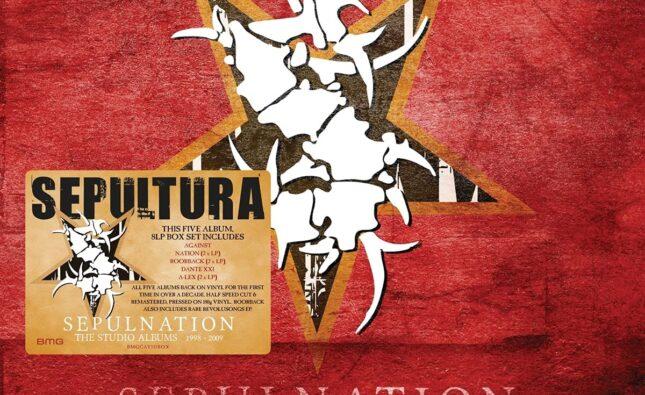 Sepultura – Sepulnation The Studio Albums 1998 – 2009 (BMG)
